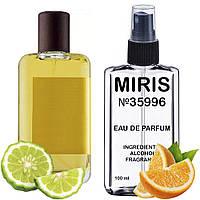 Духи MIRIS №35996 (аромат схожий на Atelier Cologne Bergamote Soleil) Унісекс 100 ml