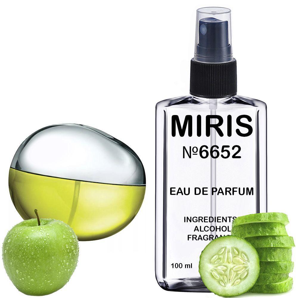 Духи MIRIS №6652 (аромат похож на Donna Karan DKNY Be Delicious) Женские 100 ml