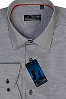 Мужская рубашка в клеточку 0813
