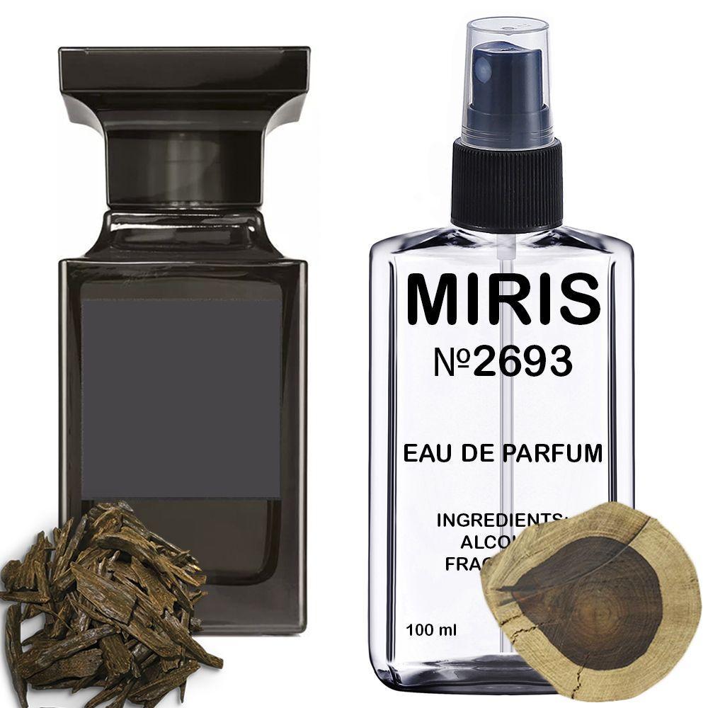Духи MIRIS №2693 (аромат похож на Tom Ford Oud Wood) Унисекс 100 ml
