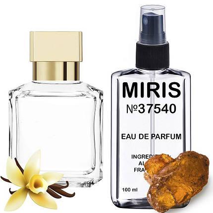 Духи MIRIS №37540 (аромат схожий на Maison Francis Kurkdjian Gentle Fluidity Gold) Унісекс 100 ml, фото 2