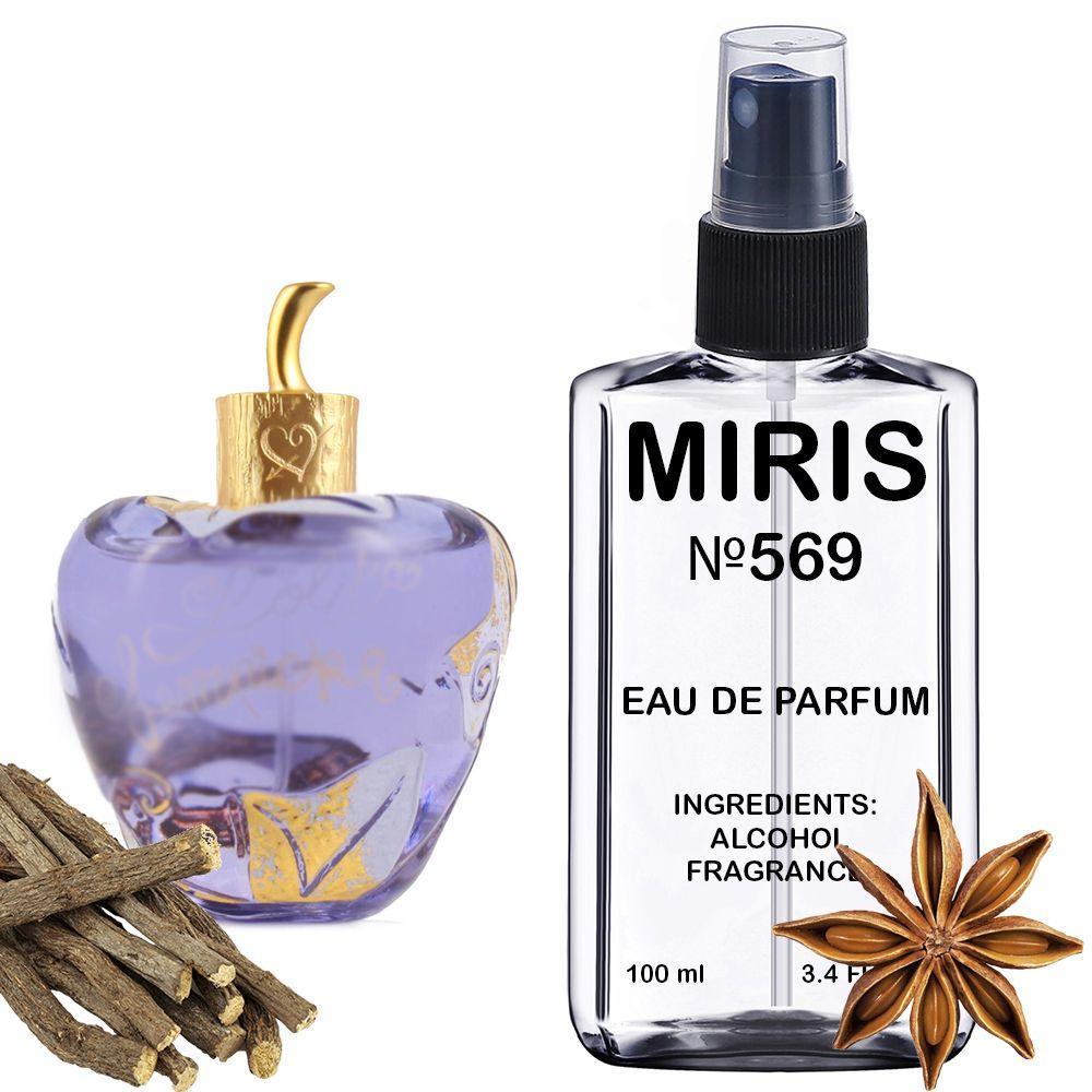 Духи MIRIS №569 (аромат похож на Lolita Lempicka Lolita Lempicka) Женские 100 ml