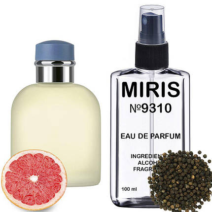 Духи MIRIS №9310 (аромат похож на Dolce&Gabbana Light Blue Pour Homme) Мужские 100 ml, фото 2
