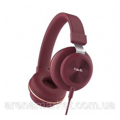 Навушники HAVIT H2263D - RED