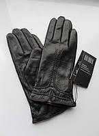 Женские лайковые перчатки, подкладка шерстяная вязка, Румыния