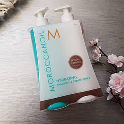 Увлажняющий набор Moroccanoil Hydrating (Shampoo, 500мл+Conditioner, 500мл)