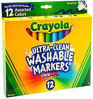 Набор смываемых маркеров Crayola 12 шт.