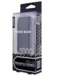 Power Bank Remax Pineapple RPL-14 5000 mAh Black, фото 2