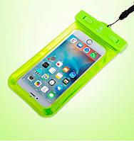 Водонепроницаемый чехол для телефона BASEUS WATERPROOF GREEN, фото 1