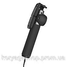 Монопод Rock Selfie Stick Both Wire Control and BT control Tarnish
