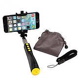 Монопод Remax RP-P2 Selfie stick Bluetooth Black, фото 3