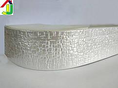 Лента декоративная, Бленда Кайман 100 Жемчужный на потолочный карниз КСМ 68 мм, усиленный потолочный карниз