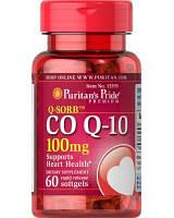 Мощный энергетик клеток Puritan's Pride Co Q-10 100 mg Q-Sorb (100 капс)