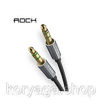 Кабель Rock AUX Audio RAU0509-91898 aluminum alloy+TPE+OFC Tarnish