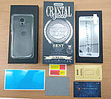 Комплект Remax Crystal Set White (стекло + чехол) для Meizu M3/M3S, фото 2