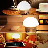 Сетевое зарядное устройство AWEI C910 LED lamp with 6 USB ports Rose Gold, фото 5