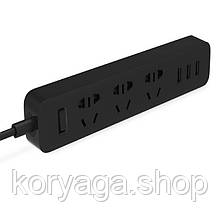 Удлинитель Xiaomi Mi Power Strip 3 USB Black