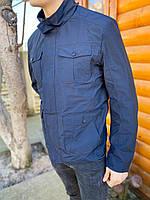 Мужская парка куртка ветровка летняя тонкая весна осень катон хлопок молодежная