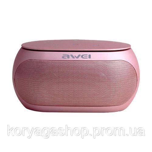 Портативная акустика Awei Y200 Rose gold