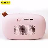 Портативная акустика Awei Y900 Pink, фото 4