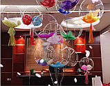Воздушный шар Бабблс 24' прозрачный (Китай), фото 4