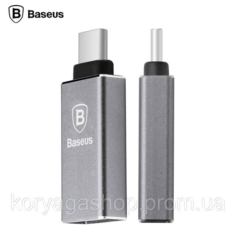 Переходник Baseus Sharp series Type-C USB 3.1 to USB 3.0 Grey