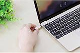 Переходник Baseus Sharp series Type-C USB 3.1 to USB 3.0 Grey, фото 3