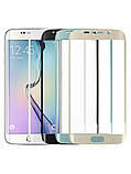 Защитное стекло Full Cover для Samsung Galaxy S7 Edge с изогнутыми краями Черное, фото 2