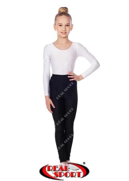 Гимнастические лосины, черные GM040045 (эластан, р-р S-M, рост 152-165 см)