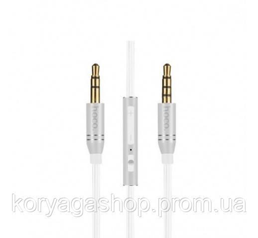 Кабель Hoco UPA05 Yueyin AUX cable White