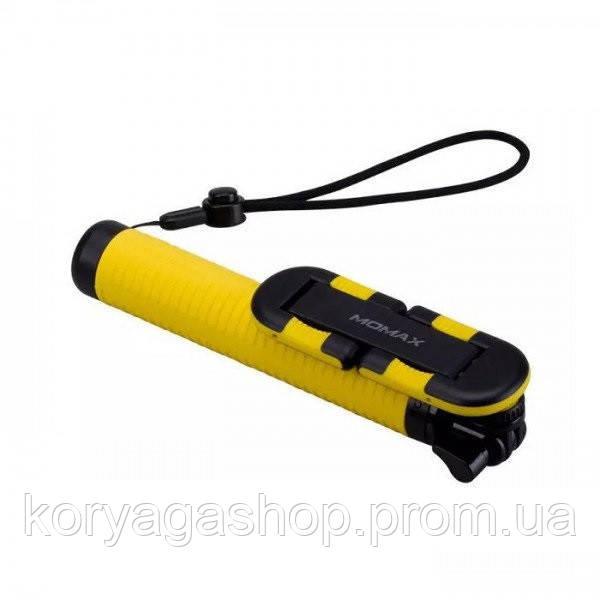 Селфи-монопод Momax Selfie Hero Bluetooth Selfie Pod 70 см Yellow/Black (KMS6D)