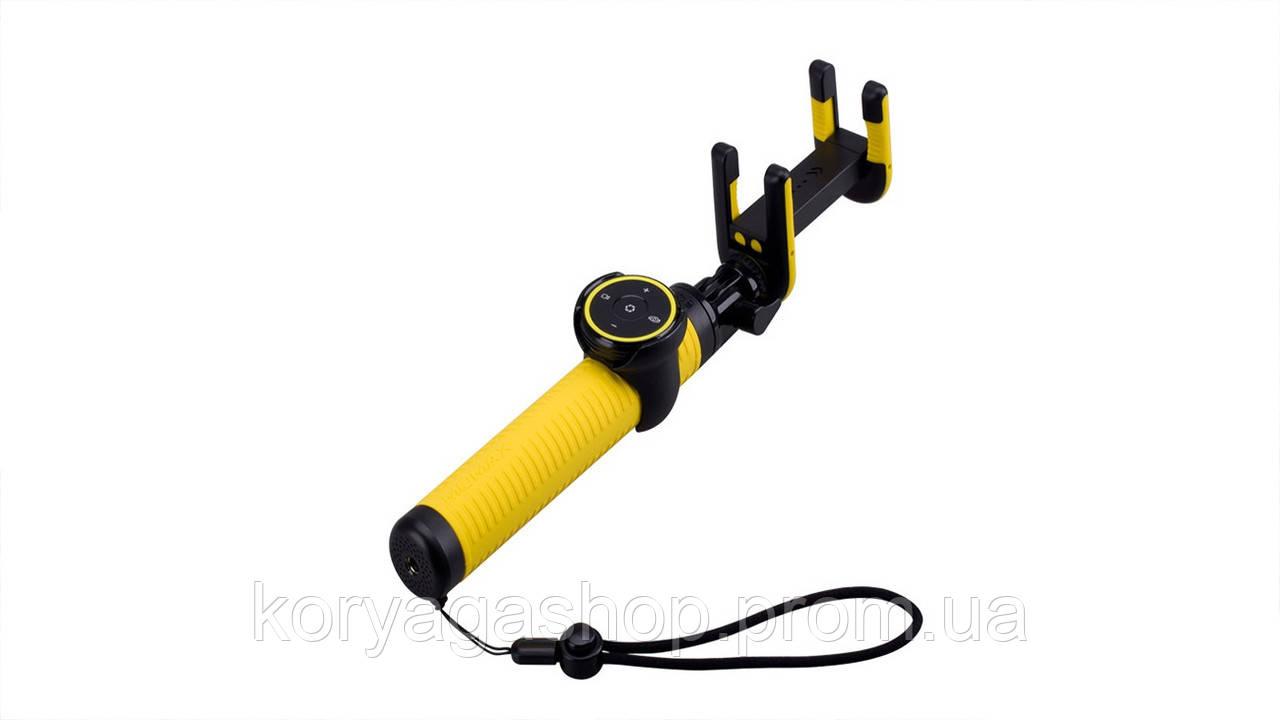 Селфи-монопод Momax Selfie Hero Bluetooth Selfie Pod 100cm Yellow/Black (KMS7D)