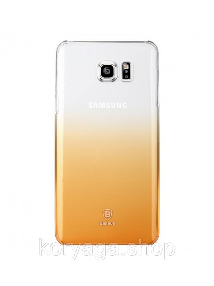 Чехол Baseus Gradient для Samsung Galaxy Note 5 Gold