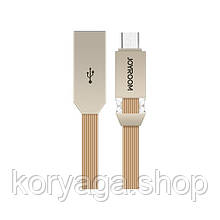 Кабель JOYROOM S-M337 Crysta microUSB Gold