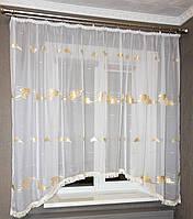 Тюль для кухни аркой, фото 1