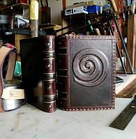 Кожаная обложка блокнот ежедневник винтажный ручной работы формат А5