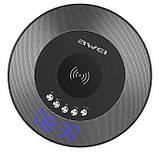 Колонка Awei Y290 Bluetooth with wireless charger Black, фото 2
