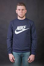 Мужской свитшот ( реглан ) Nike , темно-синего цвета