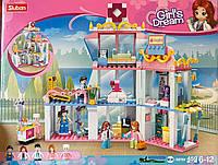 Конструктор Sluban M38-B0799 Girl's Dream Розовая мечта Больница, 459 деталей
