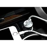 Автомобильное зарядное устройство Hoco Z4 QC2.0 (1USB 2А) Silver, фото 2