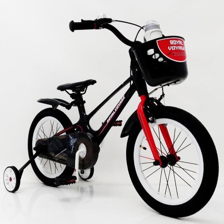 Детский двухколесный велосипед 16-SHADOW Магниевая рама (Magnesium) красный