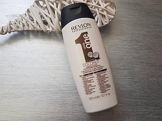 Шампунь-кондиционер с ароматом кокоса Revlon Professional Uniq One Conditioning Shampoo 300 мл