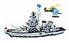 Конструктор Военный корабль Brick 112 970 деталей, фото 5