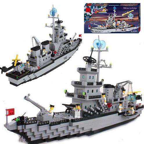 Конструктор Военный корабль Brick 112 970 деталей