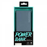 УМБ Usams Power Bank US-CD01 10000mah Grey, фото 2