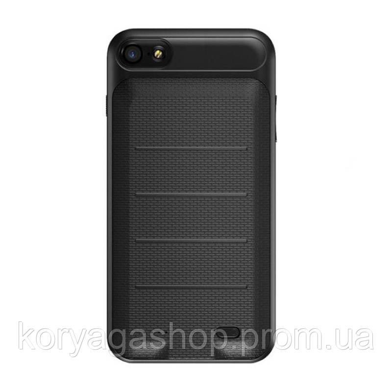 Чехол-PowerBank Baseus Plaid Backpack Power Bank Case 3650MAH для iPhone 8 Plus/7 Plus Black