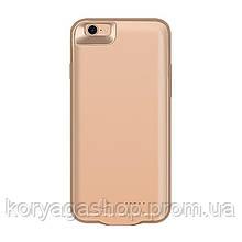 Чехол-PowerBank Joyroom D-M170 3000mAh для iPhone 7 Gold