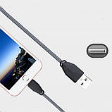 Кабель USB Lightning Awei CL-981 для Apple iPhone White, фото 4