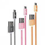 Кабель USB Lightning Hoco X2 Knitted 2m, фото 2