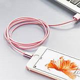 Кабель USB Hoco X2 Lightning Rose gold, фото 3